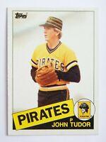 John Tudor #214 Topps 1985 Baseball Card (Pittsburgh Pirates) VG