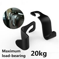 Convenient Car Auto Seat Hook Rack Pothook Seat Back Plastic Food Bag Hanger