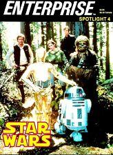 ENTERPRISE MAGAZINE SPOTLIGHT #4 STAR WARS EX CONDITION