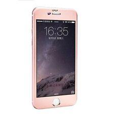 OR ROSE iPhone 6 6S Plus Aluminium verre trempé Complet Protège Écran Housse