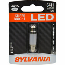 New 6411 , 578 LED License, Dome Light Sylvania Zevo Super Bright 6411 LED 6000K