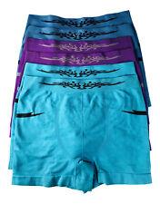 Pack 6 Xx Para Hombre Diseño Tribal De Microfibra Boxer Shorts Tamaño M ajuste de 24-30 pulgadas de cintura