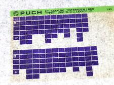 Microfich Ersatzteilkatalog Ersatzteilliste Puch Lido SL 50 Lido CD 125 1/83