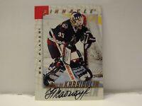 1997-1998 Pinnacle Be A Player Autograph #13 Nikolai Khabibulin Auto