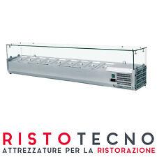 Vetrina refrigerata portacondimenti 10 GN 1/4 – 200×33,5×43,5H. Pizzeria Varef