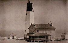 Cape Henlopen Lighthouse, Lewes Delaware 1914, De Bay Light, House - Postcard