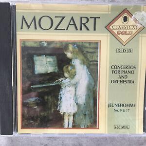 MOZART: Piano Concertos 9 & 17 - Hokanson / Redel (CD CLG 027 / neu)