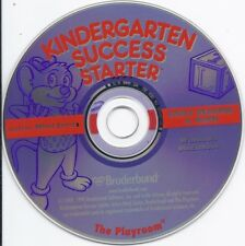Kindergarten Success Starter (Win/Mac Cd, kids fun learn Early Reading & Math)