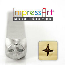 Compass Metal Design Stamp By ImpressArt Metal Jewelry Punch for Blanks