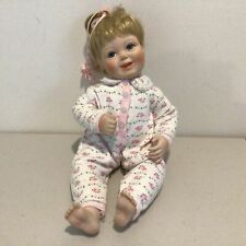 Regina C Clark Doll with Ceramic Head, Hands & Feet with Soft Body. 39cm #604