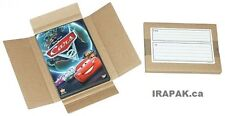86 DVD Corrugated Mailers for secure shipping/mailing