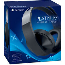 Sony Platinum Wireless 7.1 Surround Sound Gaming Headset For PS4 - (Read) - VG
