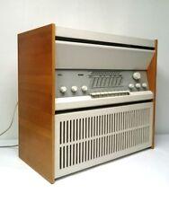 Röhrenradio Braun Atelier 2 Stereo mit Lautsprecher L1 Designanlage Rams