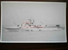 PHOTO  West German Gunboat HABICHT