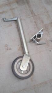 Jockey Wheel & Bracket - Heavy Duty 1200kg - Manutec