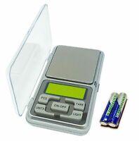 Feinwaage 200g / 0,01g Digitalwaage Taschenwaage Mini Waage Goldwaage Kleinwaage