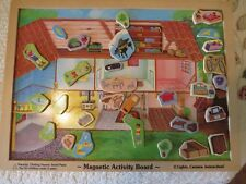 MELISSA & DOUG playhouse magnetic activity board