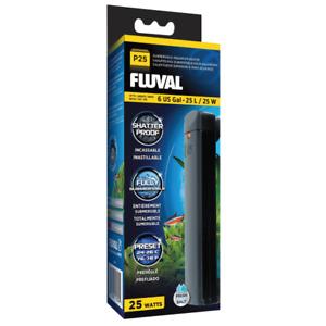 Fluval P25 Submersible Aquarium Fish Tank Heater 25W Shatter Proof Preset Heater