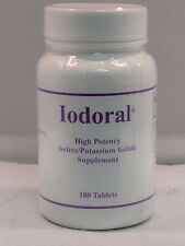 Optimox - IODORAL HIGH POTENCY 12.5mg Potassium Iodide - 180 Tablets Iodine