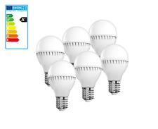 6x 3w 5w 7w 9w e27 lámparas LED lámpara incandescente lámpara sparlampe pera luz pera