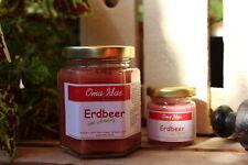 Honig mit Erdbeer Erdbeerhonig Erdbeeren Bienenhonig Marmelade Glas Geschenk