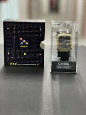 New Casio Vintage 'A100WEPC-1B Pac-Man' RARE In Hand! *Free Ship*