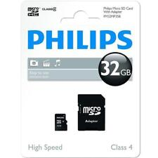 32GB MICRO SD CARD WITH ADAPTER CLASS 4