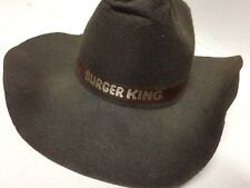 Vintage Burger King Cowboy Hat - RARE Promotional Fast Food