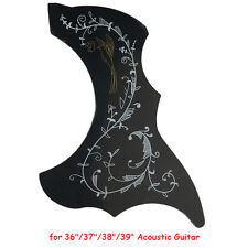 "Acoustic Guitar Pickguard Scratch Plate Vine Pattern R47mm For 36"" 37"" 38"" 39"""