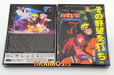 Naruto Shippuden Movie DVD: Part IV The Lost Tower English Sub New in USA