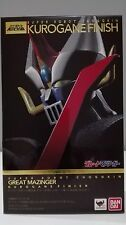 GREAT MAZINGER KUROGANE FINISH ROBOT CHOGOKIN FIGURA FIGURE NEW NUEVA BANDAI