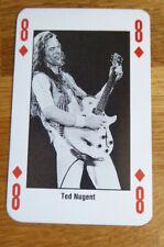 TED NUGENT SINGLE CARD KERRANG THE KING OF METAL 1990's