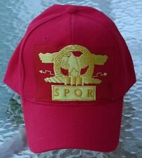 SPQR Roman Eagle embroidered baseball hat patch Centurion Armor legion clothing