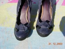 """Chaussures escarpins en cuir """"COULEUR POURPRE"""", pointure 38"""