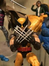 Marvel Legends Brown Suit Wolverine From The Juggernaut BAF Wave Loose