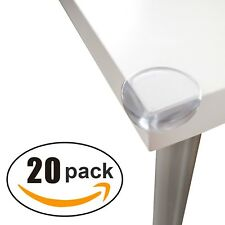 20X Child Baby Corner Edge-Furniture Protectors-Soft Safety Protection Cushion