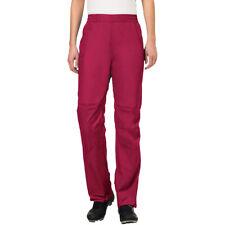 Vaude Women's Drop Biking Rain Pants II - Crimson Red