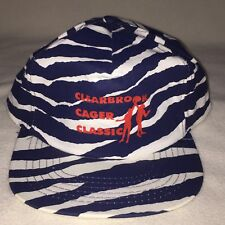 Clearbrook Cager Classic SnapBack Adjustable Hat Cap Blue White Stripes KC