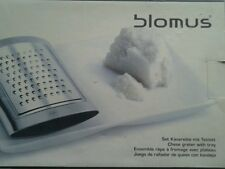 blomus cheese grater with tray - new