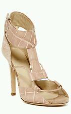 Carol High Heel/ by Diesel Black Gold/ Croc Embossed Leather Nude Size 38  $595