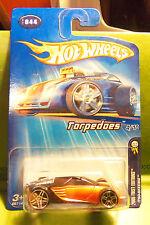 Hotwheels Hot Wheels Candy Tangerine Metallic Torpedoes Itso Skeenie Pr5 #4 2005