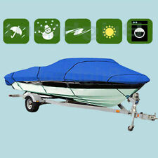 Premium Heavy Duty Waterproof Boat Cover 14' 15' 16' Fishing Ski 2019 New GBT1N