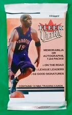 2001-02 Fleer Ultra NBA Basketball Trading Cards Sealed Hobby Pack