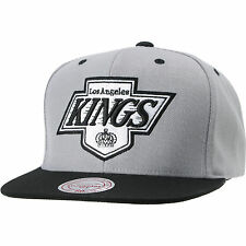 Los Angeles Kings Mitchell & Ness Vintage Undervisor Script Snapback Hat NHL