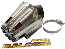 Luftfilter Malossi Racing Boxed 38mm Chrom-rot