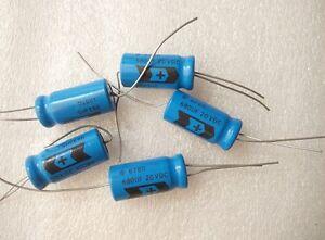 4PCS Sprague 678D 680UF 20V cathode aluminum electrolytic capacitor