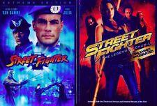 STREET FIGHTER 1&2: Legend Chun Li- Van Damme NEW 2 DVD
