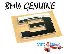 NEW BMW M3 E30 1988 -  1991 GENUINE REAR EMBLEM '' 3 '' 51 14 1 934 619