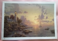 """Thomas Kinkade Limited Edition A/P The Sea Of Tranquility 24""""x36"""" + authenticity"""