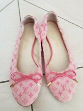 Louis Vuitton Pink Mini Monogram Ballerina Flat 37 ½